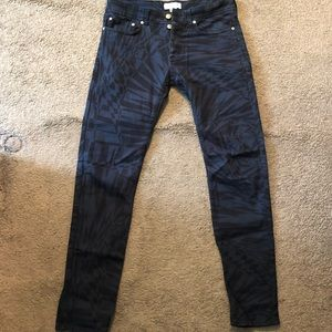 RARE! Versace for H&M abstract jeans
